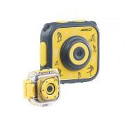 Kinder-HD-Actioncam mit Unterwasser-Gehäuse & 6 virtuellen Foto-Rahmen | Kinderkamera