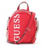 【SALE 5%OFF】ゲス GUESS URBAN CHIC LOGO MINI CROSSBODY BAG (RED) レディース