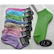 Ponožky s ELASTANEM kotník, velikost 24-25