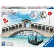 Puzzle 3D Podul Rialto, 216 Piese Ravensburger