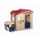 Casuta picnic cu terasa - Maro