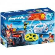 Комплект Плеймобил 6831 - Екшън игра Огън и лед, Playmobil, 2900111