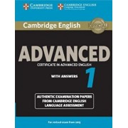 Cambridge English Advanced 1 for Revised Exam from 2015 Student's Book with Answers: Authentic Examination Papers from Cambridge English Language Asse, Paperback/***