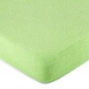 Cearșaf de pat 4Home, din bumbac fin, verde, 180 x 200 cm, 180 x 200 cm