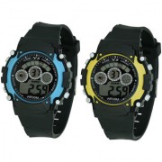 Crude Smart Combo Digital Watch-rg532 With Adjustable PU Strap - for Boy's Kid's