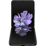 Samsung - Galaxy Z Flip with 256GB Memory Cell Phone (Unlocked) - Mirror Black