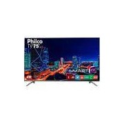 Smart TV LED 75 Philco PTV75e30DSWNT Ultra HD 4k com Conversor Digital 3 HDMI 2 USB Wi-Fi 60Hz - Titânio