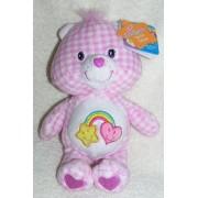 "2006 Care Bears Special Edition Country Fun 8"" Plush Best Friend Bear Bean Bag Doll"