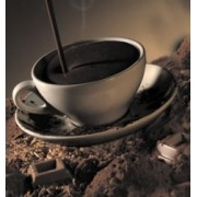 Ciocolata calda densa alba