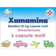 Dompè Farmaceutici Xamamina Bambini 6 Capsule Molli 25mg