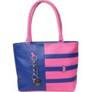 Fulgor Stylish F 3Ring Shoulder BagBlue@Pink Blue, Pink Shoulder Bag