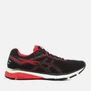 Asics Running Men's GT-1000 7 Trainers - Black/Red Alert - UK 10.5 - Black