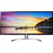 """Monitor 34"""" LG 34WK650-W, DCI 2K+ 2560*1080, Gaming Mode, IPS, 21:9, 5 ms, 300 cd/m2, 1000:1, 178/178, anti-glare 3H, HDR 10, HDMI, DP, headphone"""