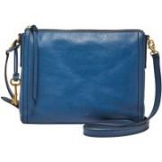 Fossil Women Multicolor Genuine Leather Sling Bag