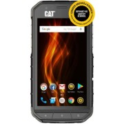 "Telefon Mobil CAT S31, Procesor Quad-Core 1.3GHz, TFT IPS – Super Bright Display Multitouch 4.7"", 2GB RAM, 16GB Flash, 8MP, 4G, Wi-Fi, Dual Sim, Android (Negru) + Cartela SIM Orange PrePay, 6 euro credit, 6 GB internet 4G, 2,000 minute nationale si intern"