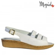 Sandale dama, din piele naturala 252001/166524/Alb/Effie