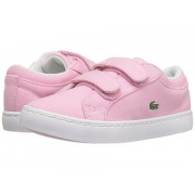 Lacoste Straightset Lace 117 3 SP17 (ToddlerLittle Kid) Light Pink