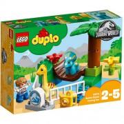 Set de constructie LEGO Duplo Gradina Zoo a Uriasilor Blanzi
