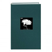 Pioneer 300 Pocket Fabric Frame Cover Photo Album, Majestic Teal