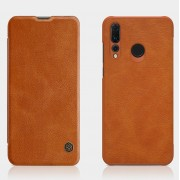 NILLKIN Qin Series Leather Card Holder Case for Huawei P Smart Plus 2019 / Enjoy 9s/ Maimang 8 / Honor 10i / nova 4 lite - Brown