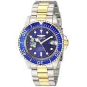 Invicta Watches Invicta Men's 'Disney Limited Edition' Automatic Stainless Steel Casual Watch ColorTwo Tone (Model 24397) BlueTwo Tone