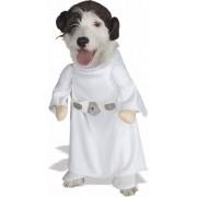 Rubie's Costume Company Rubies Fancy dress costume Co. Inc Unisex-adult Princess Leia Dog Fancy dress costume Large