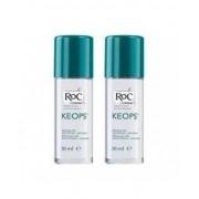 Johnson & Johnson Spa Roc Keops Deodorante Roll-On Senza Profumo 48h 2x30ml