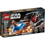 Lego Klocki konstrukcyjne LEGO Star Wars A-Wing vs.TIE Silencer Microfighters 75196