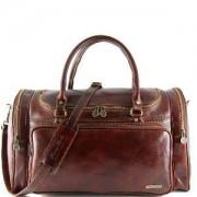 TUSCANY LEATHER Sac de Voyage Cuir Pleine Fleur - Tuscany Leather -
