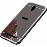 Husa Bumper Aluminiu Mirror Argintiu Iberry Pentru Asus ZenFone GO 4 5 Inch ZC451TG
