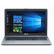 "Asus VivoBook Max X541SA-PD0703X computadora portátil Plata 39.6 cm (15.6"") 1366 x 768 Pixeles 1.6 GHz Intel Pentium N3710 Ordenador portátil (Intel Pentium, 1.6 GHz, 39.6 cm (15.6""), 1366 x 768 Pixeles, 4 GB, 500 GB)"