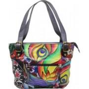 Shankar Produce Women Casual Multicolor Genuine Leather Shoulder Bag