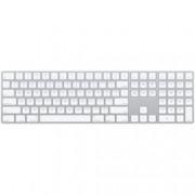 Клавиатура Apple Magic Keyboard, безжична, бяла, кирилица, Bluetooth, Lightning port