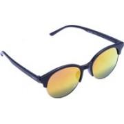 Creature Wayfarer, Round Sunglasses(Multicolor, Yellow)