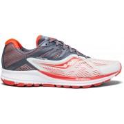 Saucony Ride 10 W - scarpe running neutre - donna - White/Red/Grey