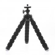 """Sonstige Marke Universal Handy Gorillapod Octopus Tripod Stativ Halterung Ständer für GoPro / Kameras mit 1/4"""" Gewinde (17.5cm) - Schwarz"""