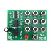 AST Works Multi-Functional Simple Electronic Password Lock Circuit Learning DIY Kits