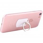 Cmzact Cps-2in1 2 En 1 Eagle Forma 360 Grados De Rotacion Magnetic Diferente Anillo Stent Auto Gancho Monte, Para IPhone, Galaxy, Nokia, Sony, HTC, Huawei, Y Otros Smartphones (blanco)