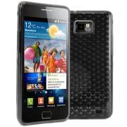 Samsung Galaxy S2 i9100 Силиконов Калъф Черен + Протектор