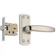 Spider Zinc Baby Latch Keyless Lock Complete Set With Cp Ss Finish (Zz01Bcs + Kbl)