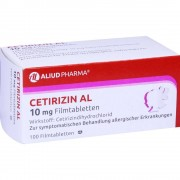 ALIUD Pharma GmbH Cetirizin AL 10 mg Filmtabletten 100 St