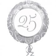 Zilveren Jubileum Ballon