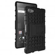 Capa Híbrida Anti-Deslizante para Sony Xperia Z5 Compact - Preto