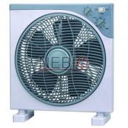 Ventilator de birou Victronic, 3 viteze, 5 palete, 35 W, Alb