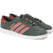 ADIDAS ORIGINALS HAMBURG Sneakers For Men(Olive)