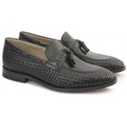 Clarks TWINLEY FREE BLACK WEAVE Slip On For Men(Black)