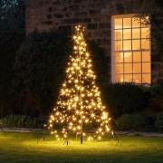 Sapin de Noël Fairybell pour Extérieur 300 LED Blanc Chaud de 2 m