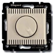 Светорегулятор поворотный 1000Вт Legrand Valena кремовый