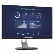 "Philips Brilliance B-line 258B6QUEB - Monitor LED - 25"" - 2560 x 1440 - IPS - 350 cd/m² - 1000:1 - 5 ms - HDMI, DVI-D, VGA, Dis"