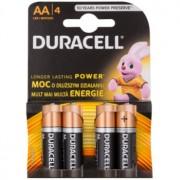 Duracell 1,5 V Alkaline Pilas AA 4 uds